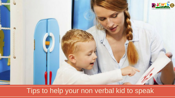 tips to help a non-verbal child to speak