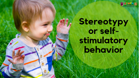 Stereotypy self stimulatory behavior