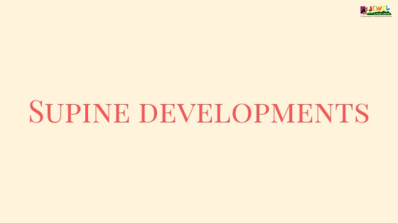 Supine developments
