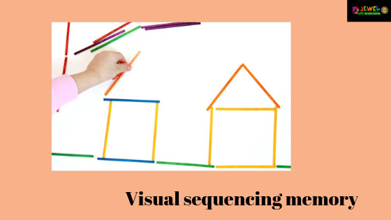 Visual sequencing memory
